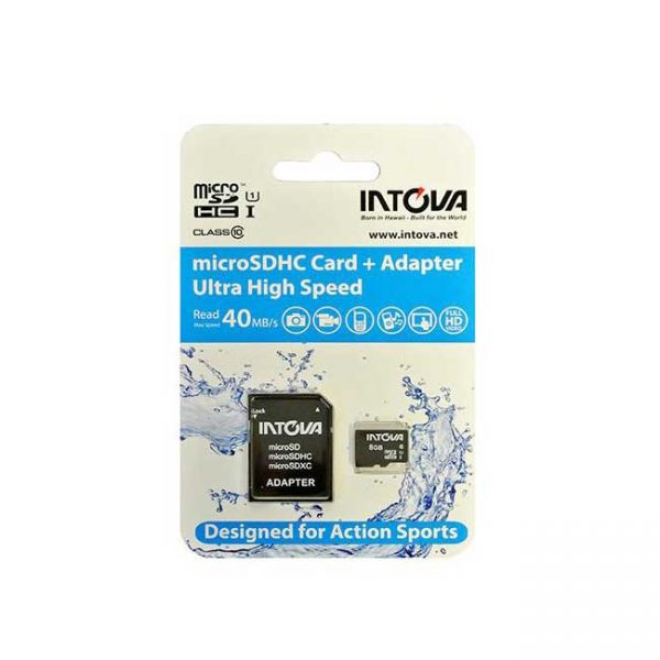 Intova 8GB microSDHC Card + Adapter (ultra high speed) - Latchi Watersports Centre