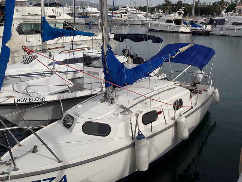 kingfisher 20 Plus Sailing Boat for sale in Cyprus with Latchi Marine Services