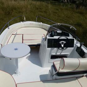 Latchi Watersports New Boats, Marinello Eden 18. Boat Hire in Paphos, Cyprus