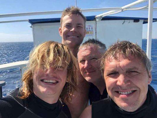 PADI Advanced Open Water course Zenobia Wreck with Latchi Dive Centre