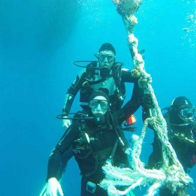 PADI Advanced Open Water course Zenobia Wreck with Latchi Dive Centre