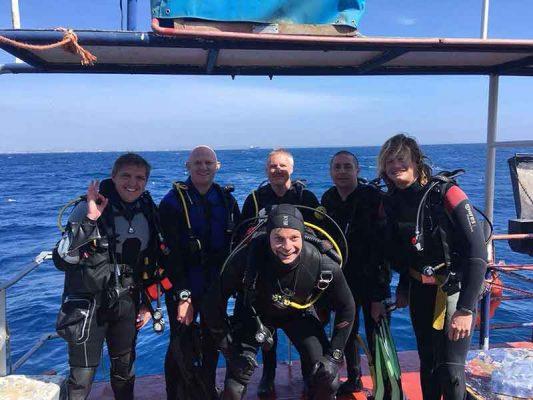 Zenobia Wreck PADI Advanced Open Water course with Latchi Dive Centre