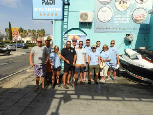 Beach Clean Up, April 2018 with Latchi Watersports Centre, Cyprus