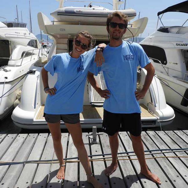 Latchi Watersports limited edition 40th year clothing range
