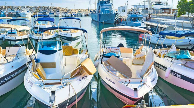 Boat Hire with Latchi Watersports Centre, Paphos Cyprus