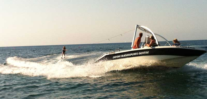 How to Learn to Water Ski in Cyprus with Latchi Watersports Centre