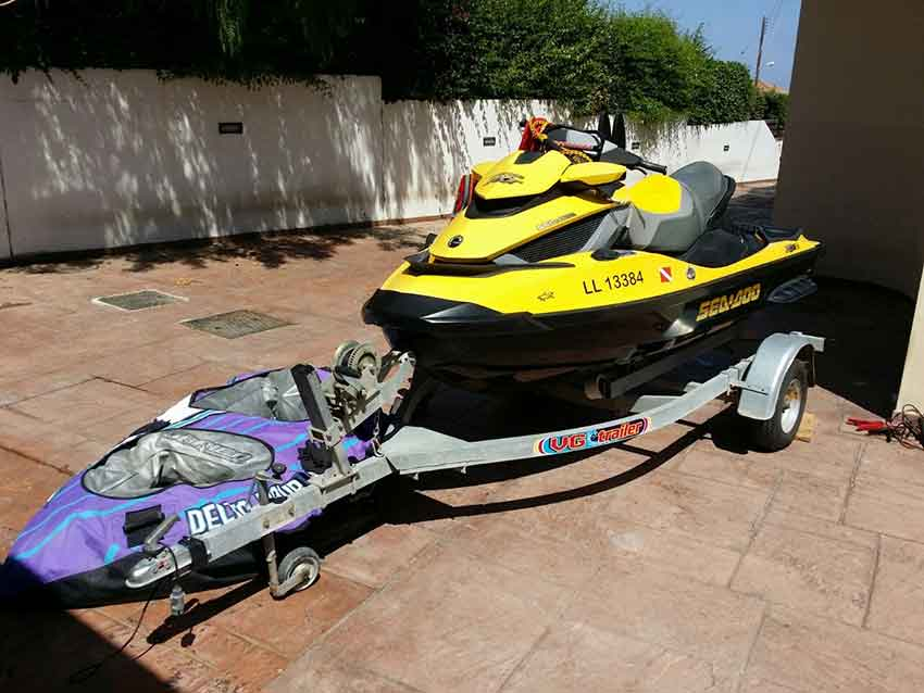 Seadoo 2009 255hp for Sale with Latchi Marine Services, Cyprus