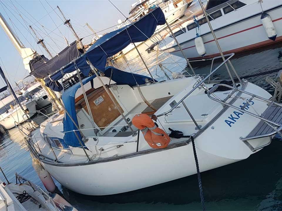 Farymann 1975 8.8m Sailboat for Sale   Latchi Marine Services