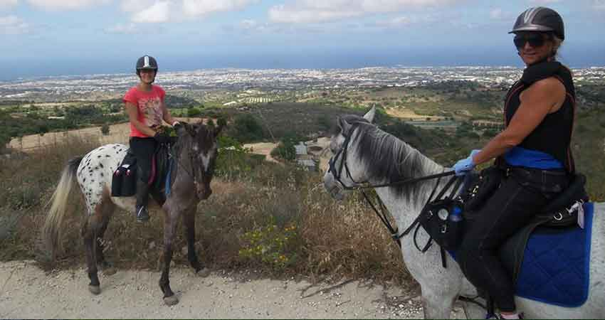 "Half Term Activities in Cyprus ""Horse Riding"" by Latchi Watersports Centre"