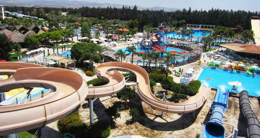 "Half Term Activities in Cyprus ""Aphrodite Waterpark"" by Latchi Watersports Centre"