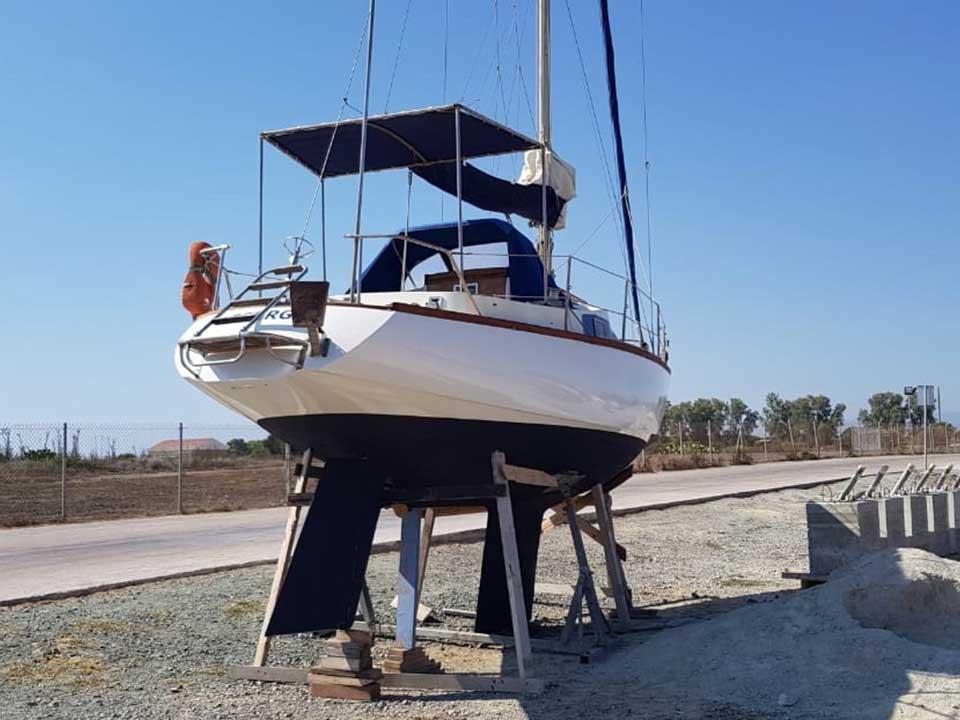 Farymann 1975 8.8m Sailboat for Sale | Latchi Marine Services