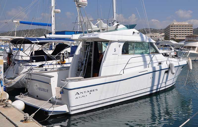 Beneteau Antares 10 80 2005 For Sale Latchi Marine Services