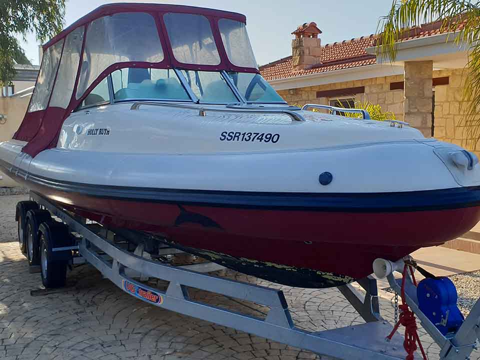 Aquaflyte Cabin Rib   Latchi Marine Services in Cyprus