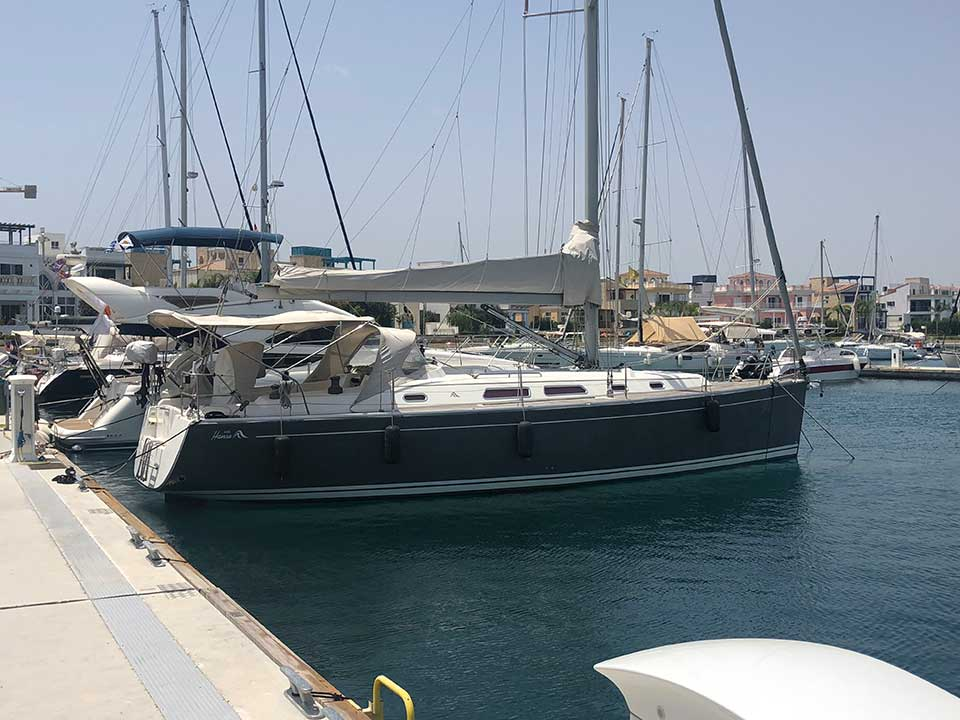Hanse 400 2008 | Cyprus Boat Sales | Latchi Marine Services