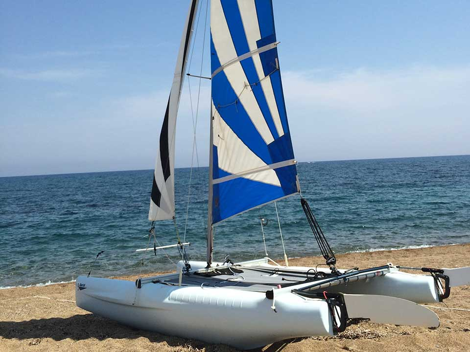 Laser Dart 16 Catamaran For Sale | Cyprus Boat Sales | Latchi Marine Services