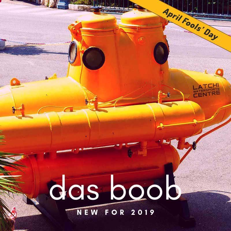 Das Boob' Our new submarine | Latchi Watersports Centre