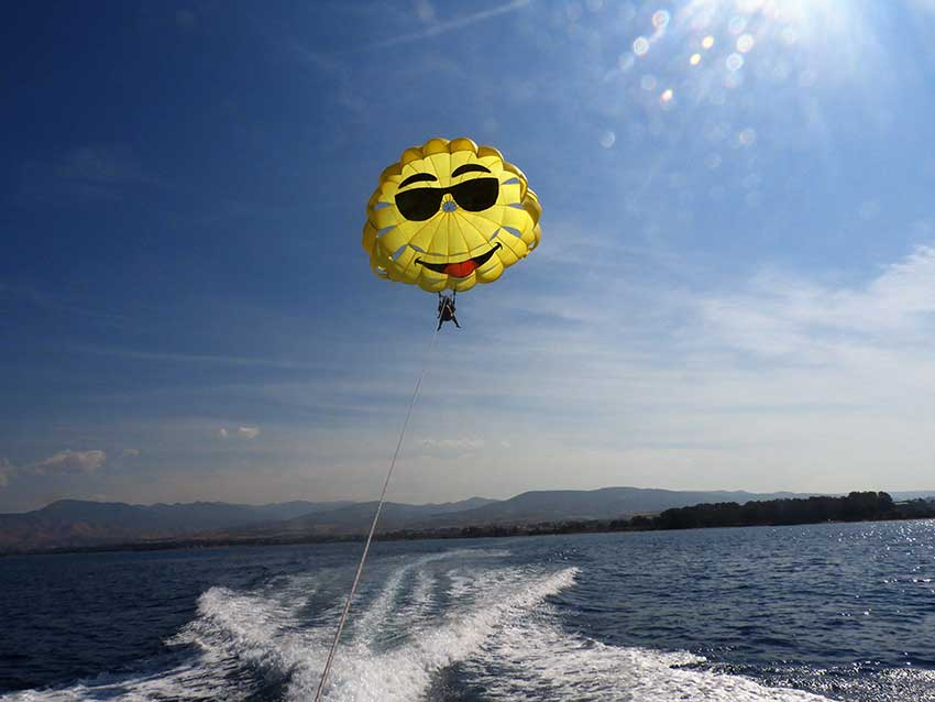 Never tried parasailing? Here is why you should | Latchi Watersports Centre in Cyprus
