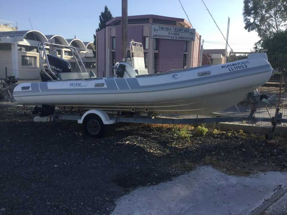 Tiger Marine Rib 2007 | Latchi Marine Services | Cyprus Boat Sales