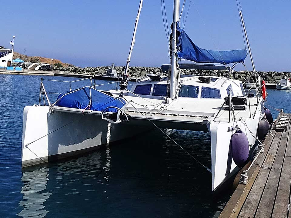 Evazion 900 Catamaran For Sale | Latchi Marine Services, Cyprus Boat Sales