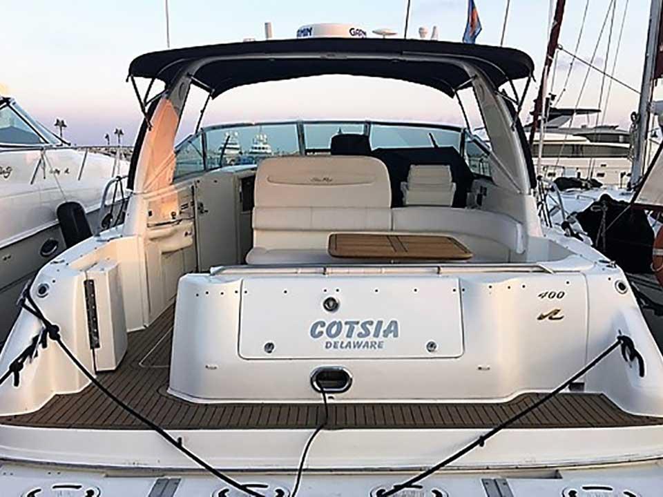 Searay Sundancer 400 1997 For Sale | Latchi Marine Services, Cyprus Boat Sales