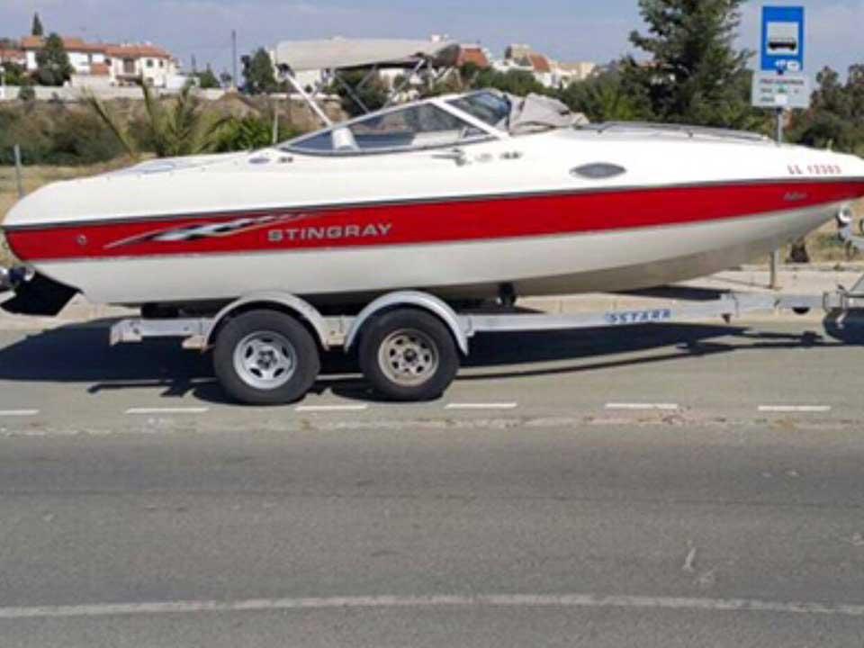 Stingray CS 220 For Sale   Latchi Marine Services, Cyprus Boat Sales