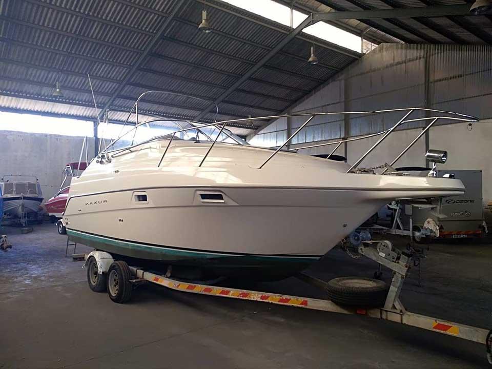 Maxum SCR 2400 | Latchi Marine Services | Cyprus Boat Sales