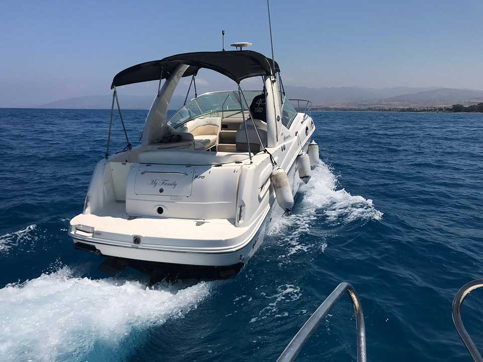 Sea Ray 275 Sundancer 2008 for Sale | Latchi Marine Services, Cyprus Boat Sales
