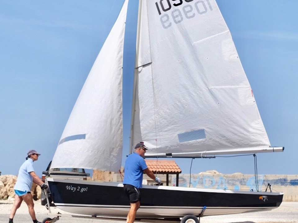Hartley Wayfarer Mk IV For Sale   Latchi Marine Services, Cyprus Boat Sales