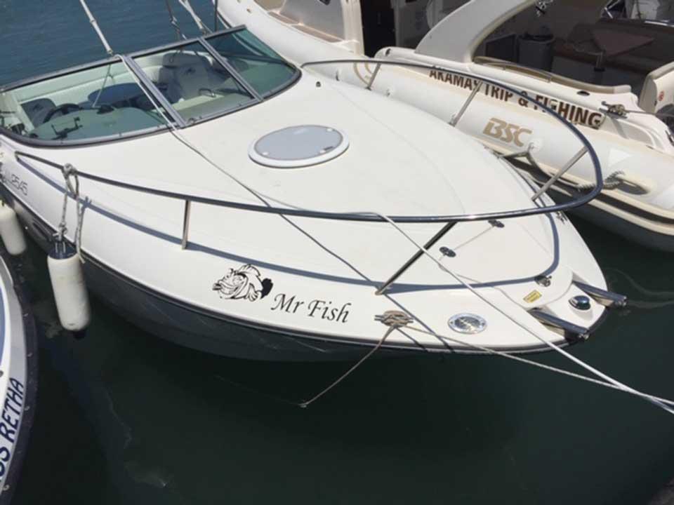 Monterey 248 LSC | Latchi Marine Services, Cyprus Boat Sales