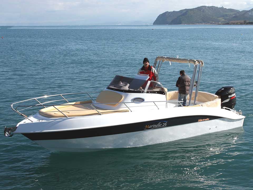 Marinello 26 250hp Cabin | Latchi Marine Services