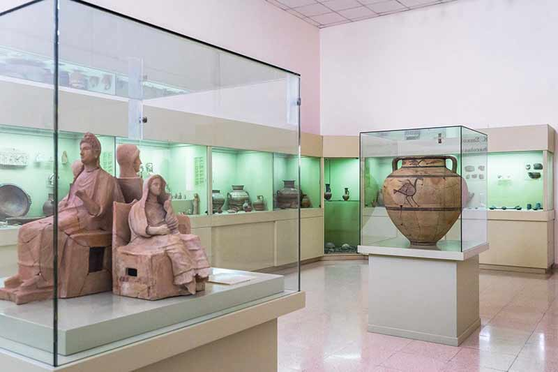 The Archaeological Museum of Marion-Arsinoe in Polis