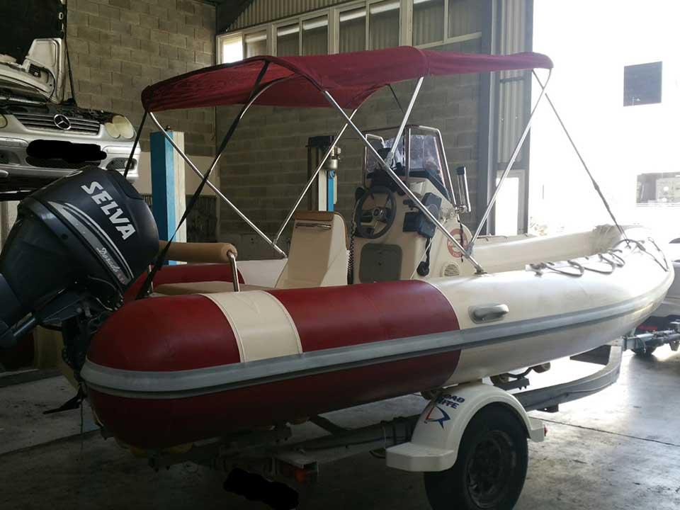 Knot Italia 18   Cyprus Boat Sales, Latchi Marine Services