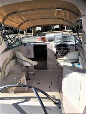 Boat Hire in Latchi, Paphos - Selpa 8m 250hp Cabin from Latchi Watersports Centre