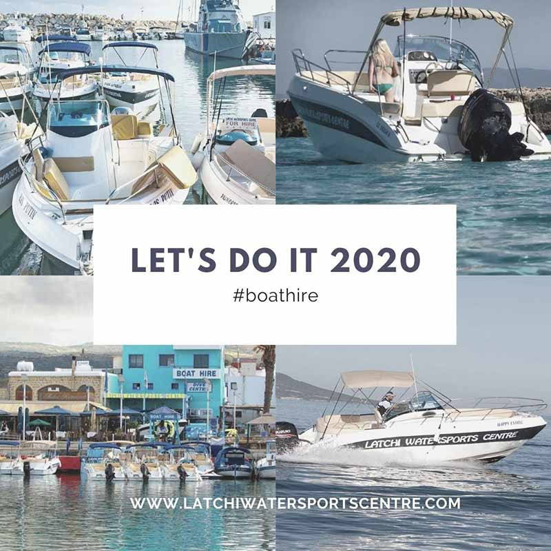 Boat Hire in Cyprus with just a car driving license