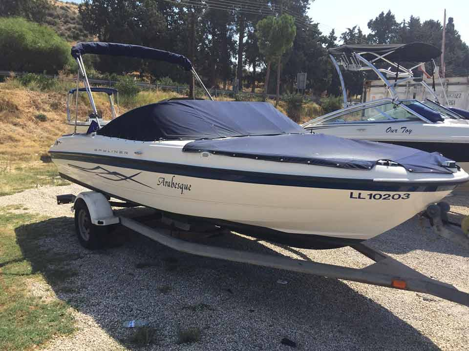 Bayliner Bowrider 190hp 2004 For Sale | Cyprus Boat Sales