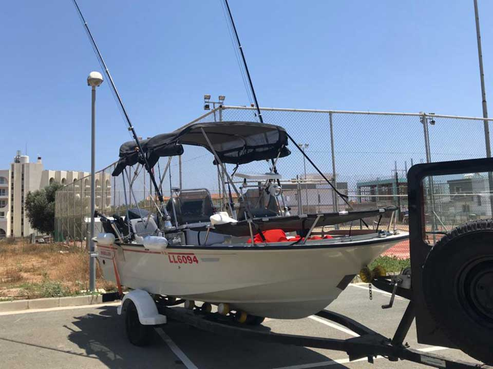Bost Whaler 16 SL 1992 For Sale | Cyprus Boat Sales