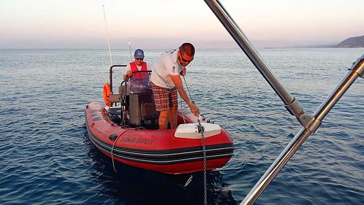 Safety Boat Anchoring procedures | Latchi Watersports Centre in Cyprus