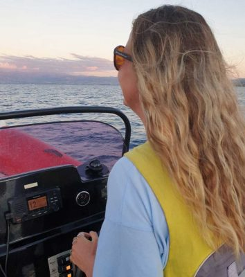 Working at Latchi Watersports by Paige Nixon