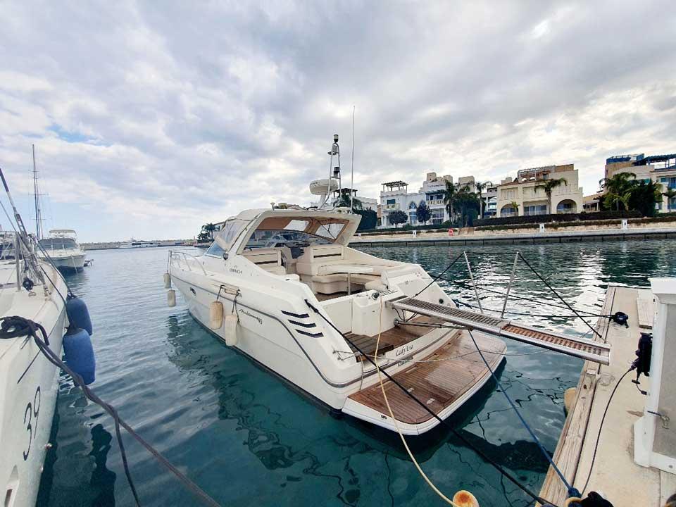 Cranchi Mediterranee 40 1995 for sale Latchi Marine Services, Cyprus