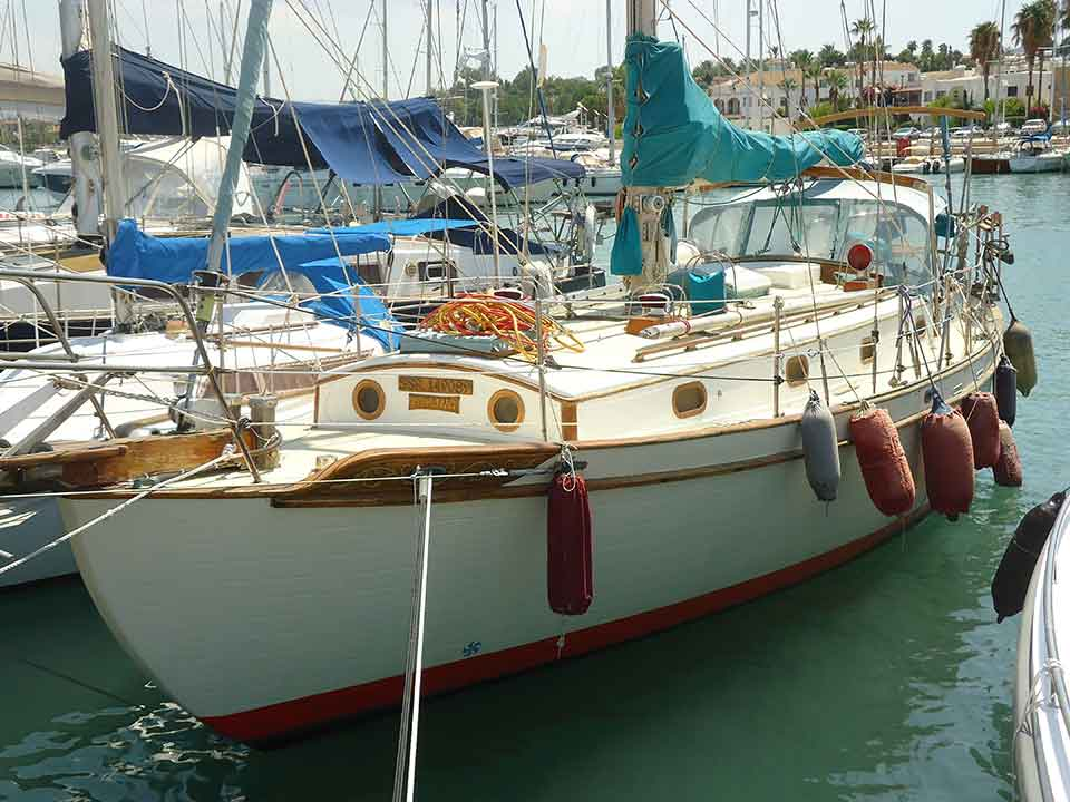 Tayana 37 1980 Cutter Rigged Sloop for sale | Latchi Marine Services