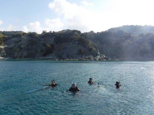 EU Erasmus Scheme - diving with Latchi Watersports in Cyprus