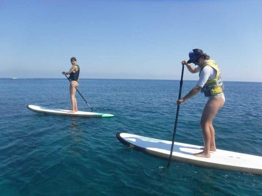 EU Erasmus Scheme - Paddleboard (SUP) with Latchi Watersports in Cyprus