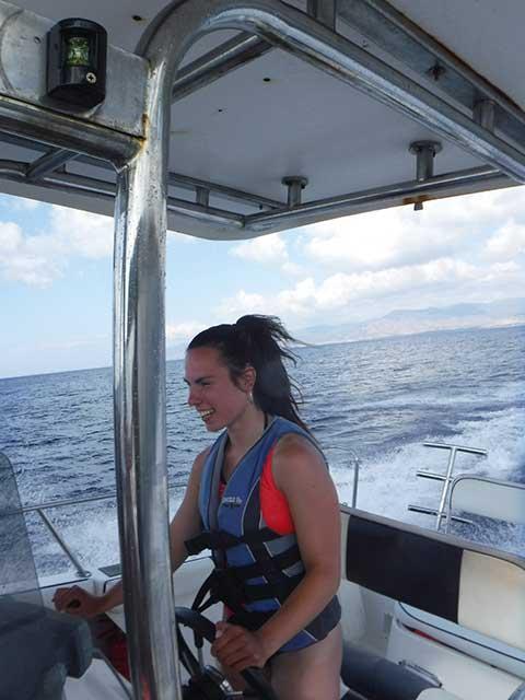 Erasmus Scheme - powerboat driving
