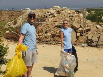 Clean Up Week with GreenDot Cyprus at Latchi Watersports Centre