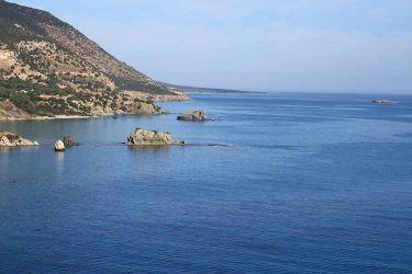 Akamas National Park Aphrodites Rock