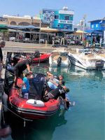 Safey Patrol Boat   Latchi Watersports Centre in Cyprus